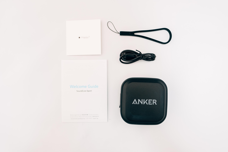 Anker SoundCore Sportの同梱物