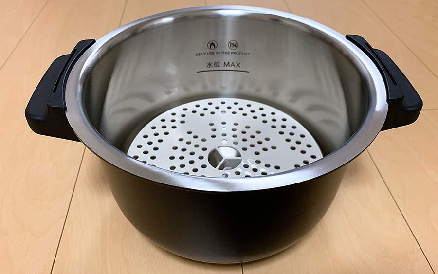 ホットクックの鍋