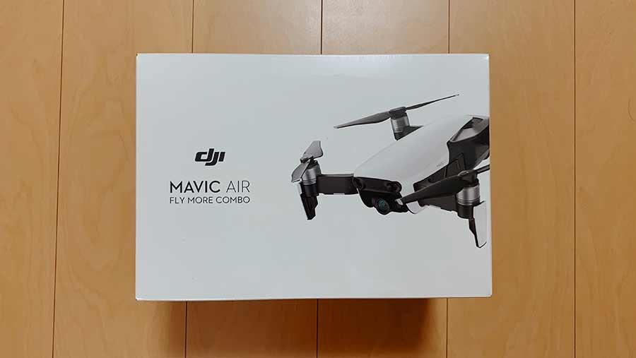 Mavic Airの外箱