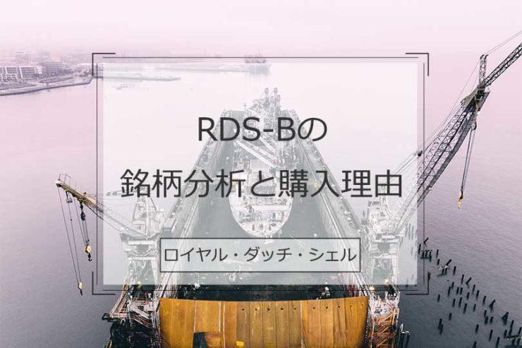 ロイヤル・ダッチ・シェルの銘柄分析と購入理由(RDS-B)